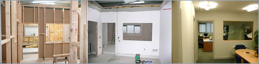 Interior and exterior fit out