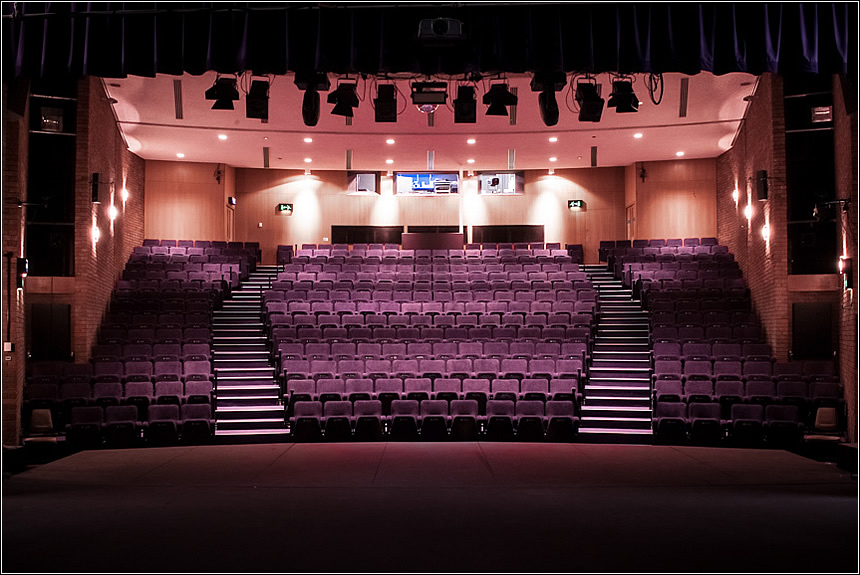 Solihull Arts Complex Theatre Completed renovation